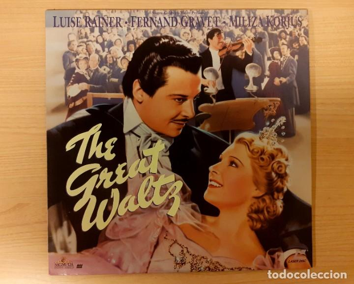 THE GREAT WALTZ (EL GRAN VALS) 1938 LASERDISC USA NTSC LUISE RAINER, FERNAND GRAVEY (Cine - Varios)