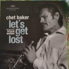Cinéma: CHET BAKER. LET'S GET LOST . 3 DVDS + LIBRETO. Lote 242136200