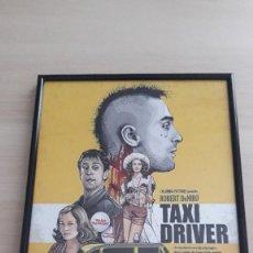 Cine: CUADRO TAXI DRIVER REPRO. Lote 243430205