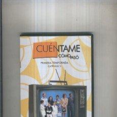 Cine: DVD: CUENTAME COMO PASO, NUMERO 099, PRIMERA TEMPORADA, CAPITULO 05. Lote 244431590