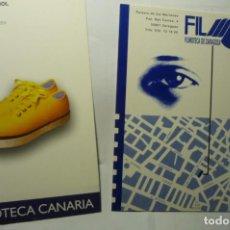Cine: LOTE POSTALES FILMOTECA ZARAGOZA .- CANARIA. Lote 244438920