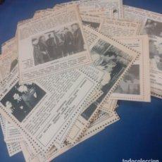 Cine: LOTE DE MAS DE 100 RECORTES DE LA REVISTA TELEPROGRAMA DE PELICULAS EMITIDAS EN LOS AÑOS 60 Y 70 EN. Lote 244677890