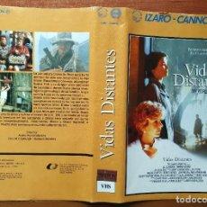 Cine: CARATULA VHS - VIDAS DISTANTES - PEDIDO MINIMO 6€. Lote 244851340
