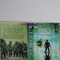 Cinéma: SOLO CARATULA ~ LA PRESA ~. Lote 244995150