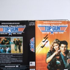 Cinéma: SOLO CARATULA ~ TOP GUN ~. Lote 245001510