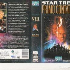 Cinema: CARATULA ORIGINAL - STAR TREK PRIMER CONTACTO - ITALIANO. Lote 245453975