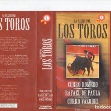 Cine: LA PASIÓN POR LOS TOROS. Lote 247500890