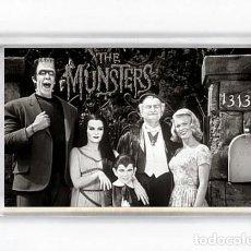 Cinema: IMAN ACRILICO NEVERA - SERIES DE TELEVISION LA FAMILIA MONSTER THE MUNSTERS. Lote 247814990