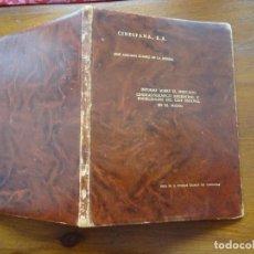 Cine: CINE, INFORME MERCADO ARGENTINO Y POSIBILIDADES DEL CINE ESPAÑOL, 1969. Lote 251689740