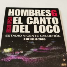 Cine: E3. HOMBRES G. EL CANTO DEL LOBO.. Lote 252790520