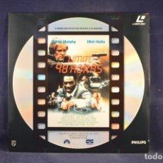 Cinema: LIMITE: 48 HORAS - LASER DISC. Lote 252932760