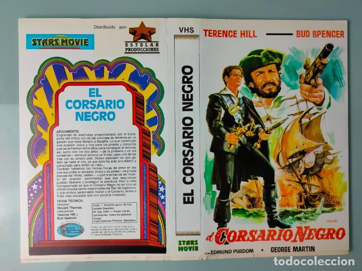 CARATULA ORIGINAL - EL CORSARIO NEGRO - BUD SPENCER *PEDIDO MINIMO 5 EUROS* (Cine - Varios)