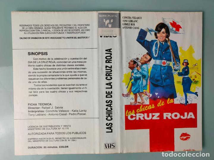 CARATULA ORIGINAL - LAS CHICAS DE LA CRUZ ROJA *PEDIDO MINIMO 5 EUROS* (Cine - Varios)