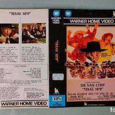 Cinema: CARATULA ORIGINAL - TEXAS 1870 - LEE VAN CLEEF *PEDIDO MINIMO 5 EUROS*. Lote 253630110