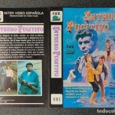 Cinema: CARATULA ORIGINAL - INTRUSO FUGITIVO *PEDIDO MINIMO 5 EUROS*. Lote 253845420