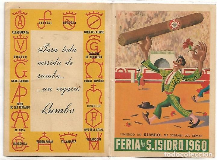 TOROS FERIA DE SAN ISIDRO 1960-RARO Y PERFECTO-IMPORTANTE LEER TODO (Cine - Varios)