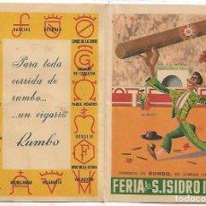 Cine: TOROS FERIA DE SAN ISIDRO 1960-RARO Y PERFECTO-IMPORTANTE LEER TODO. Lote 254799675