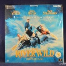 Cinema: THE RIVER WILD (RIO SALVAJE) - LASER DISC. Lote 254890730