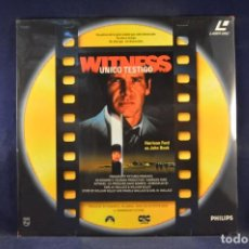 Cinema: UNICO TESTIGO - LASER DISC. Lote 254891540