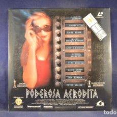 Cinema: PODEROSA AFRODITA - LASER DISC. Lote 254895275