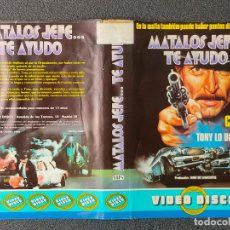 Cine: CARATULA ORIGINAL - MATALOS JEFE... TE AYUDO *PEDIDO MINIMO 5 EUROS*. Lote 255945470