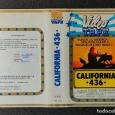 Cine: CARATULA ORIGINAL - CALIFORNIA 436 *PEDIDO MINIMO 5 EUROS*. Lote 255945945