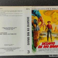 Cine: CARATULA ORIGINAL - DESAFIO EN RIO BRAVO *PEDIDO MINIMO 5 EUROS*. Lote 255946175
