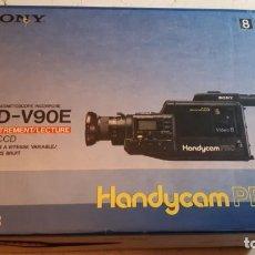 Cine: VIDEOCÁMARA RECORDER SONY CCD-V900E HANDYCAM PRO - AÑOS 80.. Lote 257385505