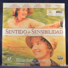 Cinema: SENTIDO Y SENSIBILIDAD - LASER DISC. Lote 257788725