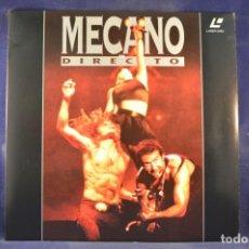 Cinema: MECANO EN DIRECTO - LASER DISC. Lote 257793140