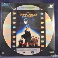 Cinema: LOS INTOCABLES DE ELIOT NESS - LASER DISC. Lote 257794725