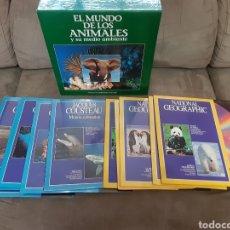 Cine: 11 LASER DISC EL MUNDO DE LOS ANIMALES Y SU MEDIO AMBIENTE (PRECINTADO). Lote 257971580