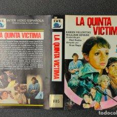 Cinema: CARATULA ORIGINAL - LA QUINTA VICTIMA *PEDIDO MINIMO 5 EUROS*. Lote 258141305