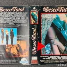 Cinema: CARATULA ORIGINAL - DESEO FATAL *PEDIDO MINIMO 5 EUROS*. Lote 258262000