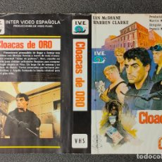 Cinema: CARATULA ORIGINAL - CLOACAS DE ORO *PEDIDO MINIMO 5 EUROS*. Lote 258516295
