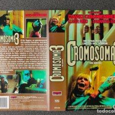 Cinema: CARATULA ORIGINAL - CROMOSOMA 3 *PEDIDO MINIMO 5 EUROS*. Lote 258516645