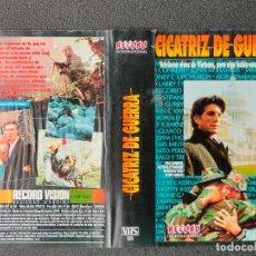 Cinema: CARATULA ORIGINAL - CICATRIZ DE GUERRA *PEDIDO MINIMO 5 EUROS*. Lote 258517375