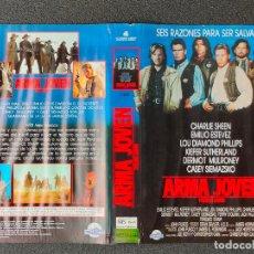 Cinema: CARATULA ORIGINAL - ARMA JOVEN (YOUNG GUNS) *PEDIDO MINIMO 5 EUROS*. Lote 258552375