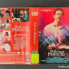 Cinema: CARATULA ORIGINAL - UN ASESINATO PERFECTO *PEDIDO MINIMO 5 EUROS*. Lote 258554060