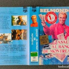 Cinema: CARATULA ORIGINAL - ASALTO AL BANCO DE MONTREAL *PEDIDO MINIMO 5 EUROS*. Lote 258569450