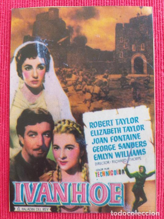 RECORTE: IVANHOE. ROBERT TAYLOR, ELIZABETH TAYLOR (Cine - Varios)