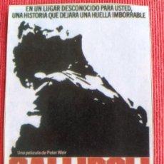 Cine: RECORTE DE REVISTA. GALLIPOLI. MEL GIBSON, PETER WEIR. Lote 261799450
