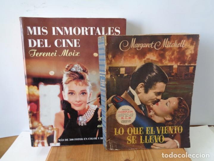 Cine: ¡¡ CINE: INMORTALES DEL CINE, HOLLYWOOD AÑO 50 Y LO QUE EL VIENTO SE LLEVO.!! - Foto 2 - 261934535