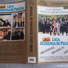 Cinema: CARATULA OTRA LOCA ACADEMIA DE POLICIA VHS. Lote 263061770