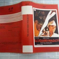 Cinema: CARATULA EL LIGUERO MAGICO VHS. Lote 263072960