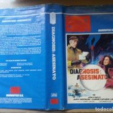 Cine: CARATULA DIAGNOSIS : ASESINATO VHS. Lote 263120480