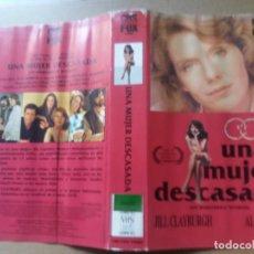 Cine: CARATULA UNA MUJER DESCASADA VHS. Lote 263121770