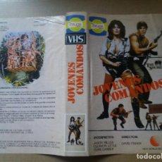 Cine: CARATULA JOVENES COMANDOS VHS. Lote 263124585