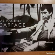 Cine: PÓSTER PLASTIFICADO 42 X 60 CM SCARFACE AL PACINO. Lote 263608390
