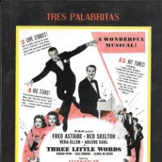 Cinema: LIBRETO TRES PALABRITAS - RICHARD THORPE. Lote 266020298